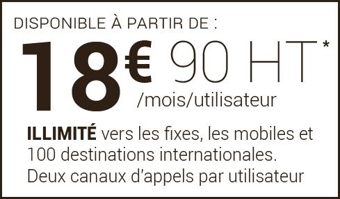 Prix Centrex 18,90 € HT